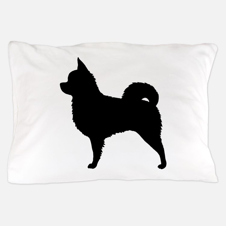 Long Haired Chihuahua Pillow Case