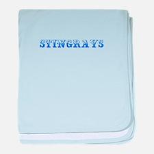stingrays-Max blue 400 baby blanket