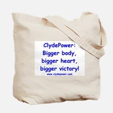 Biathlete Clyde Tote Bag