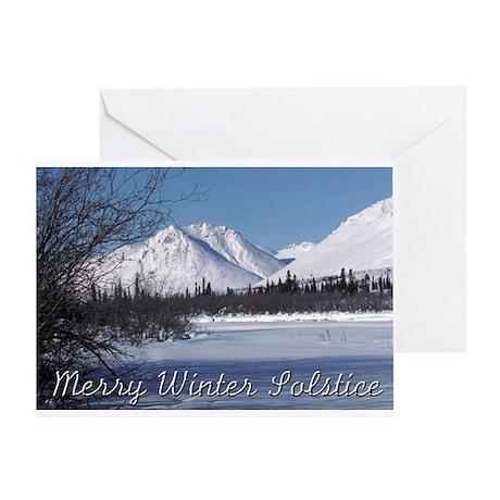 """Winter Solstice #2"" Greeting Card"
