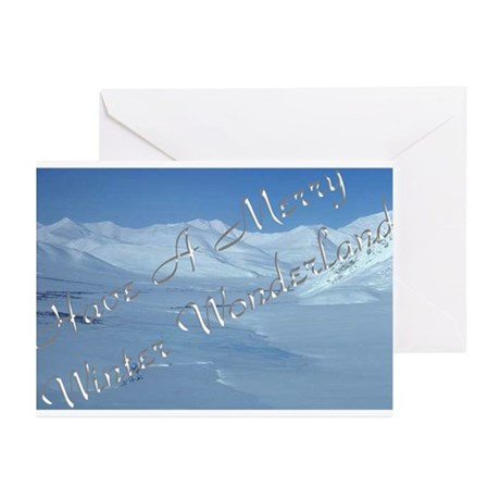 """""""Winter Solstice #4"""" Greeting Cards (Pk of 10)"""