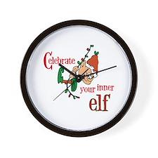 Inner Elf Wall Clock