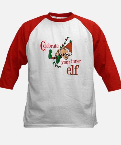 Inner Elf Kids Baseball Jersey