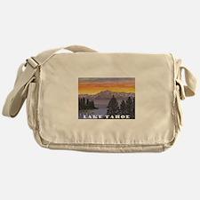 Mt. Tallac Lake Tahoe Messenger Bag