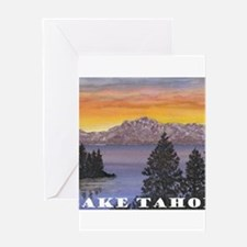 Mt. Tallac Lake Tahoe Greeting Cards