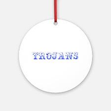 Trojans-Max blue 400 Ornament (Round)