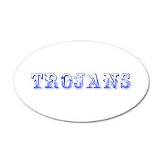 Trojans-Max blue 400 Wall Decal