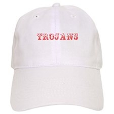 Trojans-Max red 400 Baseball Baseball Cap