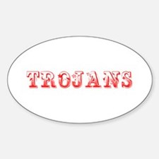 Trojans-Max red 400 Decal