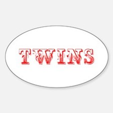 twins-Max red 400 Decal