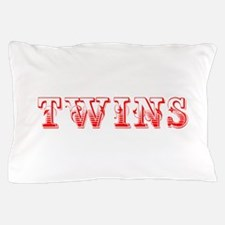 twins-Max red 400 Pillow Case