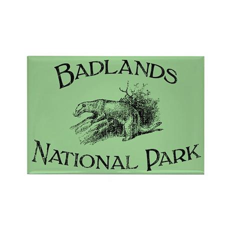 Badlands National Park (Ferret) Rectangle Magnet