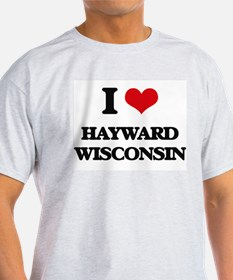 I love Hayward Wisconsin T-Shirt