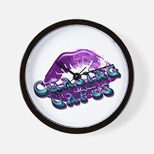 Chasing Vapes Lips Wall Clock