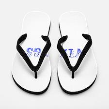 Vikings-Max blue 400 Flip Flops