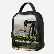 Pumpjack and Vineyard Neoprene Lunch Bag