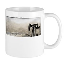 Pumpjack and Vineyard Mug