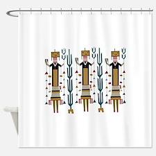 Cactus Women Shower Curtain