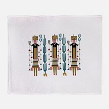 Cactus Women Throw Blanket