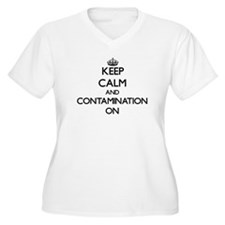 Keep Calm and Containers ON Plus Size T-Shirt