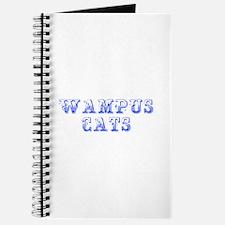 Wampus Cats-Max blue 400 Journal