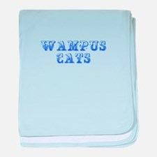Wampus Cats-Max blue 400 baby blanket