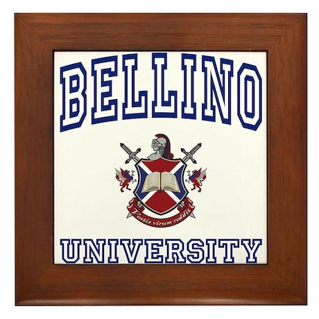 BELLINO University Framed Tile