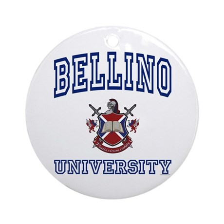BELLINO University Ornament (Round)