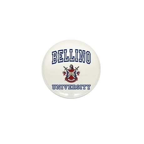 BELLINO University Mini Button (100 pack)