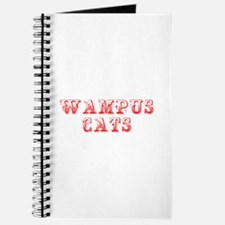Wampus Cats-Max red 400 Journal