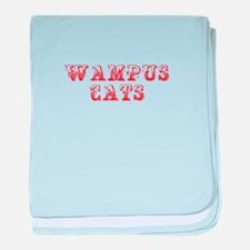 Wampus Cats-Max red 400 baby blanket