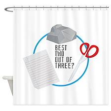 Best of Three? Shower Curtain