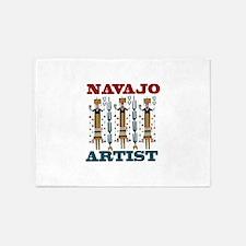 Navajo Artist 5'x7'Area Rug