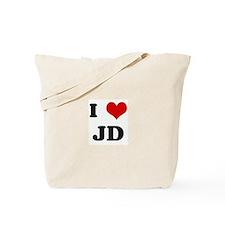 I Love JD Tote Bag