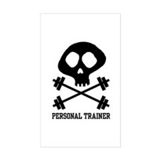 Personal Trainer Rectangle Decal