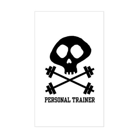 Personal Trainer Rectangle Sticker