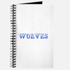 Wolves-Max blue 400 Journal