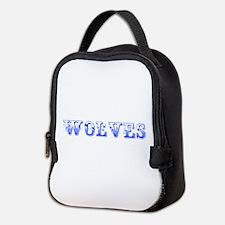 Wolves-Max blue 400 Neoprene Lunch Bag