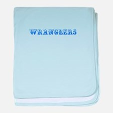 Wranglers-Max blue 400 baby blanket