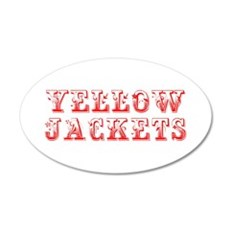 Yellow Jackets-Max red 400 Wall Decal