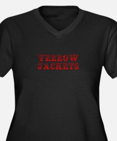 Yellow Jackets-Max red 400 Plus Size T-Shirt