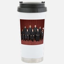 I'm Not With Them Stainless Steel Travel Mug