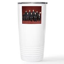 I'm Not With Them Travel Coffee Mug