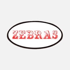 Zebras-Max red 400 Patch
