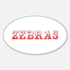 Zebras-Max red 400 Decal