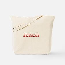 Zebras-Max red 400 Tote Bag