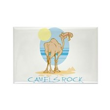 Camels Rock Rectangle Magnet