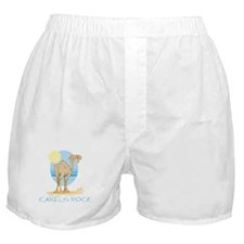 Camels Rock Boxer Shorts