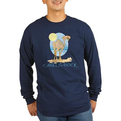 Camels Rock Long Sleeve Dark T-Shirt