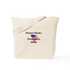 Vote for Master Shake Tote Bag